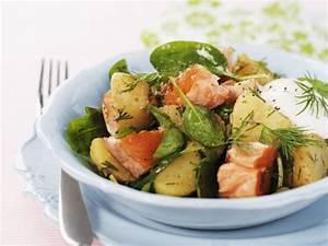 Salat Mit Spinat : kartoffel spinat salat mit lachs dill und sauerrahm rezept eat smarter ~ Orissabook.com Haus und Dekorationen