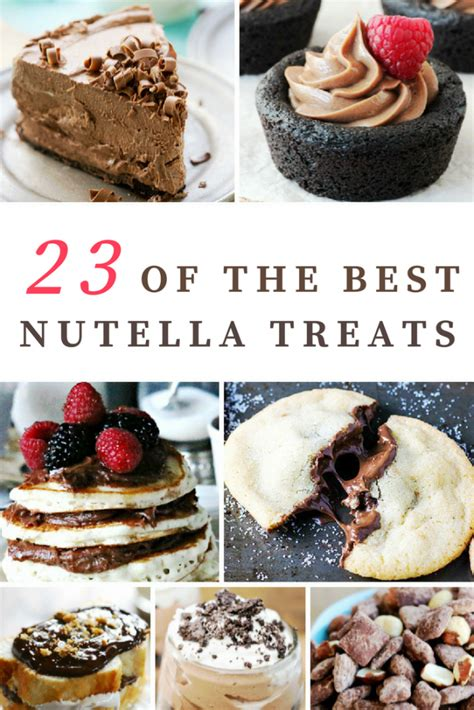 best nutella recipes 23 of the best nutella recipe treats mom spark mom blogger