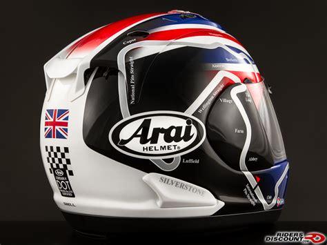 Arai Corsair-v Haslam Track Helmet