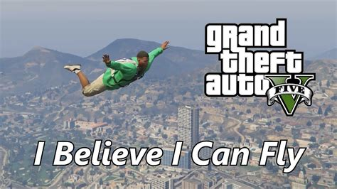 (gta V) I Believe I Can Fly Music Video [pc Video Editor