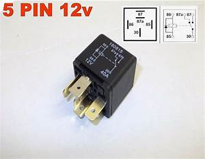 5 Pin 12v 40amp Automotive Changeover Relay Car Van Diode
