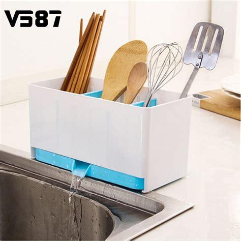 kitchen sink organiser utensils holder rack caddy caddy sponge basket wash 2801