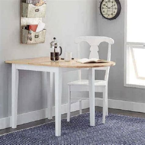 Kitchen Table With Leaf Insert Country Cottage Dining