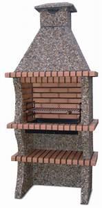 My barbecue barbecue en brique jardin av1800f for Barbecue de jardin en brique