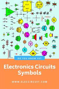Electronic Circuit Symbols And Diagrams