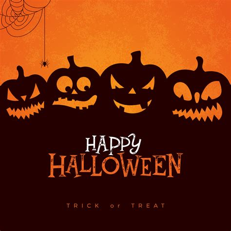 You can mix and match your own paper colors and patterns to create halloween decor with your own. Happy Halloween banner illustration - Download Free ...