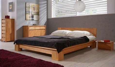 chambre bois massif adulte lit en bois massif vinci chambre coucher adulte