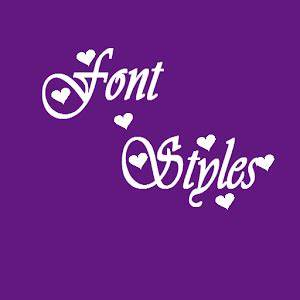font styles android apps on google play With font letter app