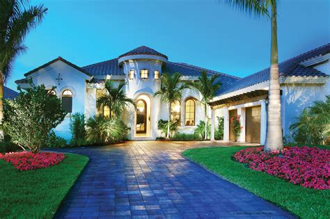 Images Mediterranean Houses Plans by Mediterranean Style House Plan 4 Beds 4 5 Baths 3790 Sq