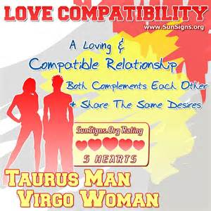 Virgo Man and Taurus Woman Relationship