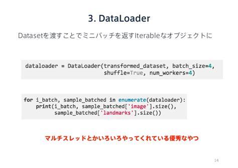 Pytorch Dataloader