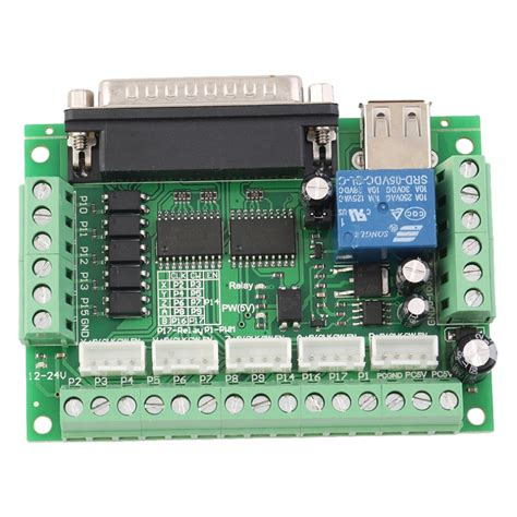 Upgraded Axis Cnc Interface Adapter Breakout Board For