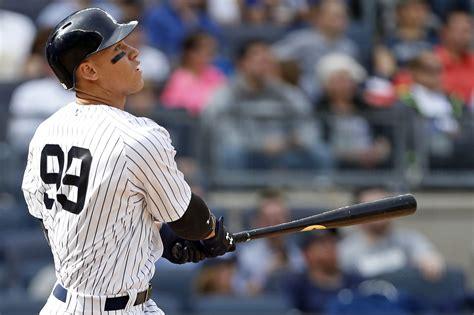 New York Yankees Desktop Wallpaper New York Yankees Aaron Judge 39 S Inhuman Power Is On Full Display