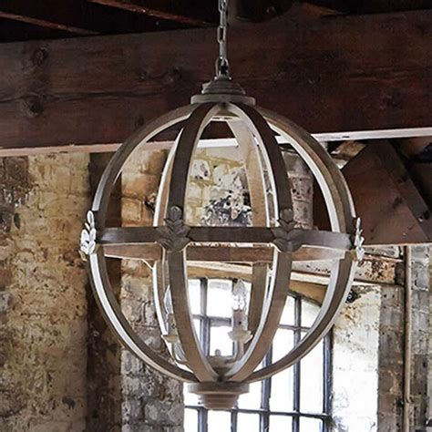 large wooden orb chandelier design interiors and