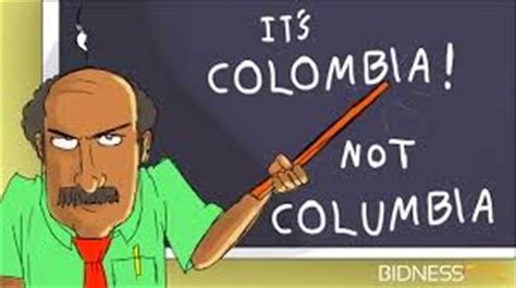 stmhumanities quot it s colombia not columbia quot
