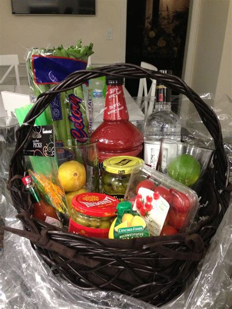 bloody mary basket gift ideas pinterest st