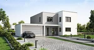 Stadtvilla Mit Garage : haus mit garage oder doppelgarage bauen ideen und ~ A.2002-acura-tl-radio.info Haus und Dekorationen