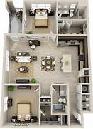 3d Bedroom Design Planner by 3d Floor Plan Apartment Google Search Plans Pinterest Suits In Law S