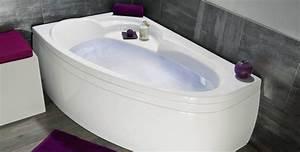 Baignoire D Angle Pas Cher : baignoire d angle design simple baignoire duangle en ~ Dailycaller-alerts.com Idées de Décoration