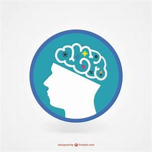 Genius brain icon Vector | Free Download