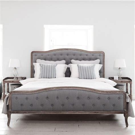 Chantal Bed  Superking Grey Linen  Home Deco Pinterest
