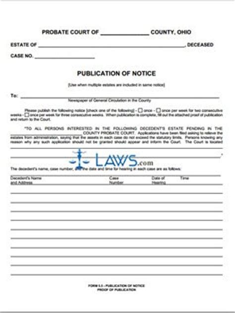 colquitt county divorce by publication forms publication of notice proof of publication ohio forms