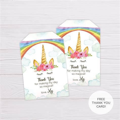 rainbow unicorn invitation template flearn ph
