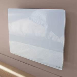 Radiateur Electrique Verre : photo convecteur rayonnant facade verre ~ Nature-et-papiers.com Idées de Décoration