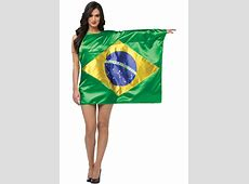 Brazilian Flag Dress Costume Escapade® UK