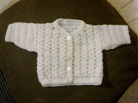 Easy Baby Sweater Crochet Pattern
