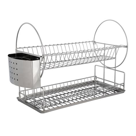 dish rack  tier ring  stainless steel stand dish racks tiered ring stainless