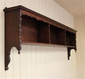oak three section wall shelf antiques atlas