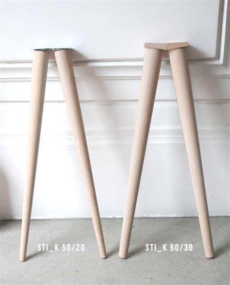 pieds compas pour meuble design en bois style scandinave ikea diy