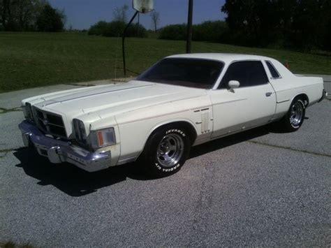 1979 Chrysler 300 For Sale by 1979 Chrysler 300 1 Year Only For Sale Chrysler 300
