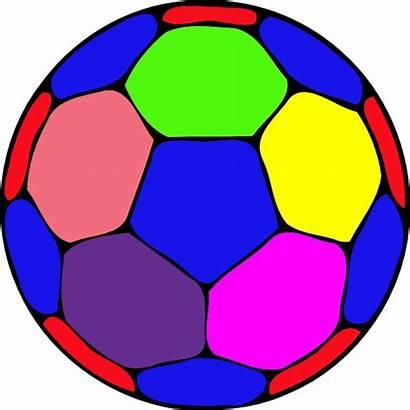 Ball Clipart Handball Cliparts Clip Colorful Clker