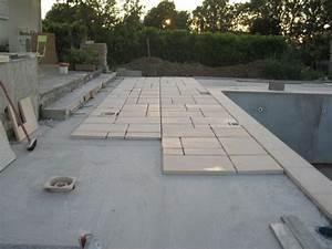 pose carrelage sur dalle beton exterieur evtod With pose dalle piscine sur dalle beton