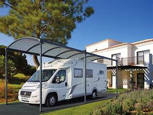 Carport Camping Car : abri et carport en aluminium pour voiture camping car ~ Dallasstarsshop.com Idées de Décoration