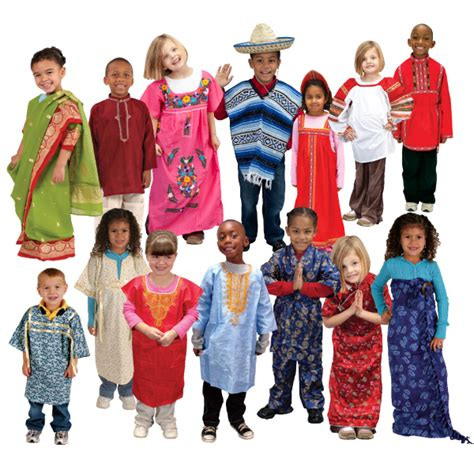 authentic dramatic play multi ethnic costumes hatchstore