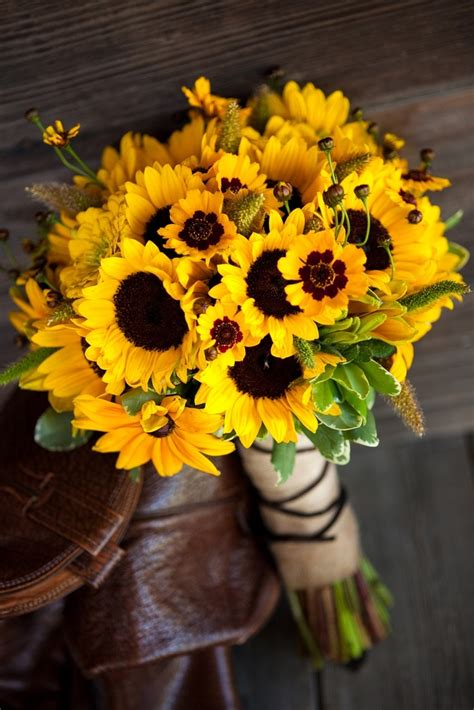 beautiful sunflower bouquet pictures   images