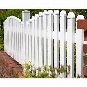 Gartenzaun Weiß Holz : groja basicline gartenzaun kunststoff bogen oben 2 h hen ~ Michelbontemps.com Haus und Dekorationen