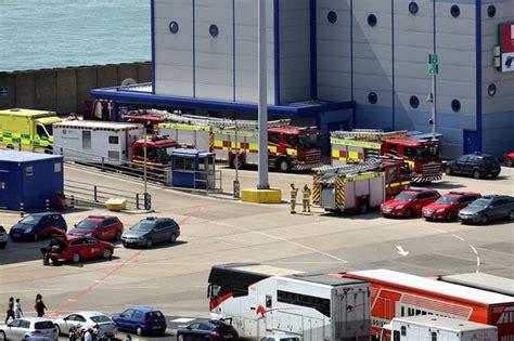 15 asylum seekers rescued from inside tanker on P&O ferry ...