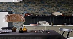 Papier peint deco salon cuisine salle de bain 2016 for Deco cuisine pour salle de bain
