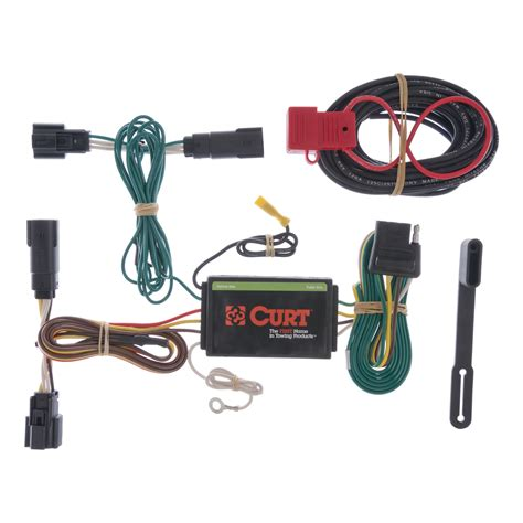 curt custom vehicle to trailer wiring harness 56120 for 2011 2014 ford edge ebay