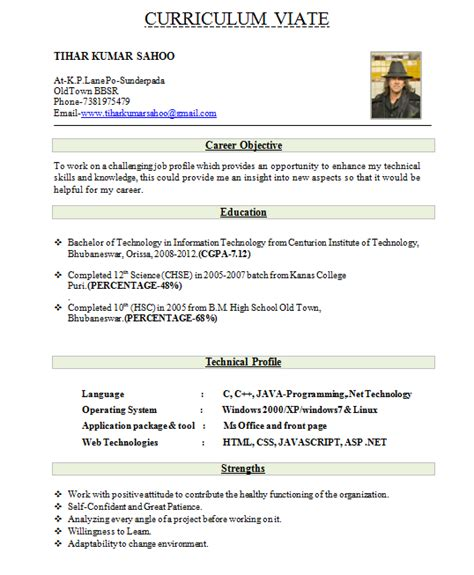 Best Resume Exle For Freshers by Beautiful Resume Format Express News Daily