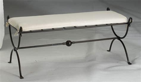 meuble bas cuisine 120 cm banc bout de lit fer forge