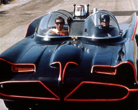 Batman Mobile by Burt Ward Adam West Batman 11x14 Photo Driving Batmobile