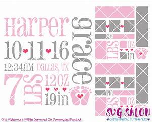 Dorable newborn announcement templates vignette resume for Baby birth announcements templates for free