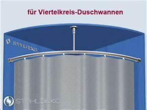Stange Für Duschvorhang Ohne Bohren : stange f r duschvorhang 1 4 kreis duschwanne ebay ~ A.2002-acura-tl-radio.info Haus und Dekorationen