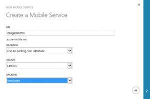 windows phone app studio part 4 azure services drew5 net