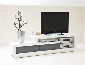 Tv Möbel Weiß Hochglanz : lowboard celine 170x45x40 cm hochglanz wei grau tv board tv m bel kaufen bei vbbv gmbh co kg ~ Indierocktalk.com Haus und Dekorationen